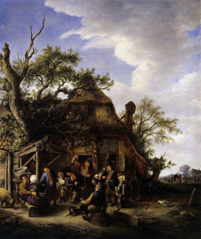 Happy Peasants - Adriaen van Ostade