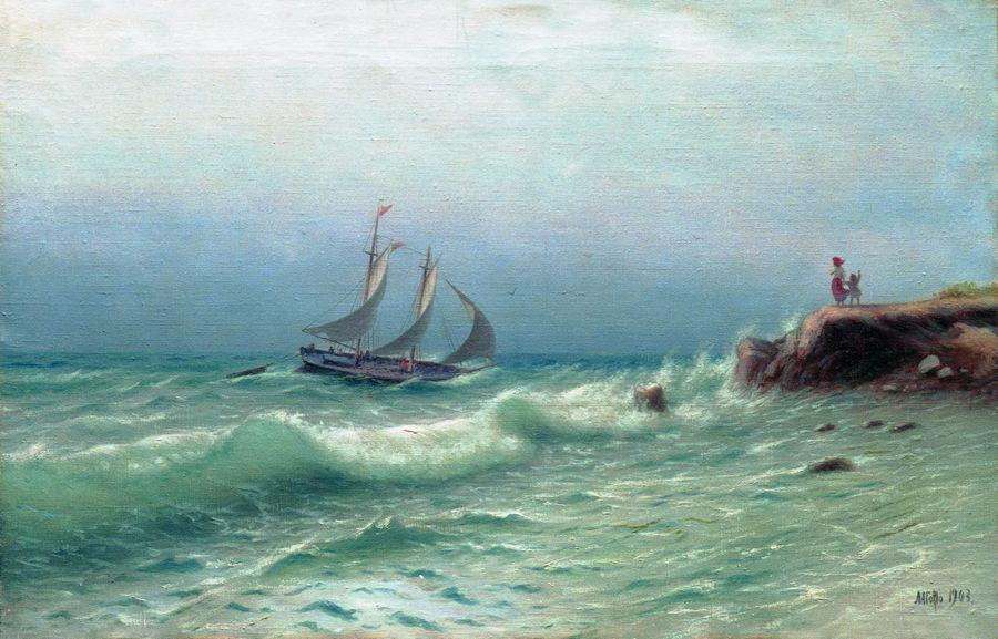 Happyness of meeting - Lev Lagorio