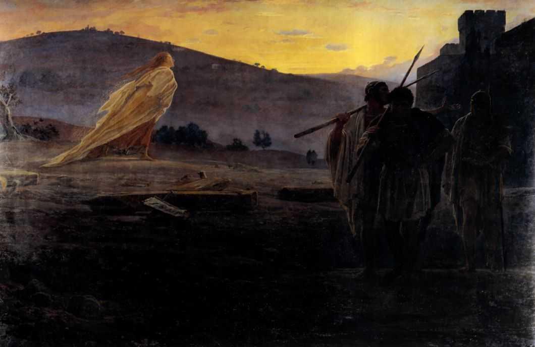 Harbingers of the Resurrection - Nikolai Ge