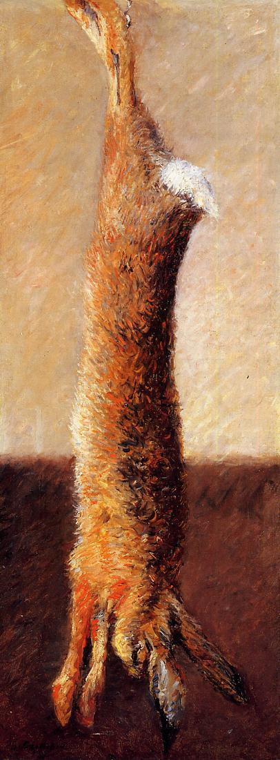 Hare - Gustave Caillebotte