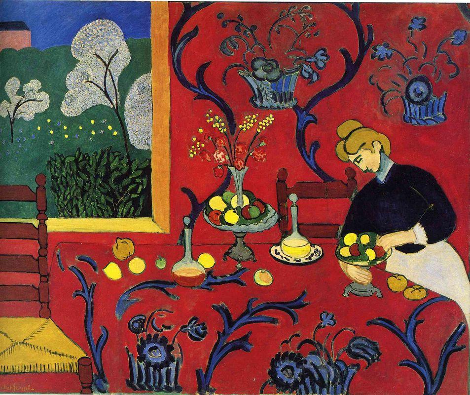 Harmony in Red - Henri Matisse