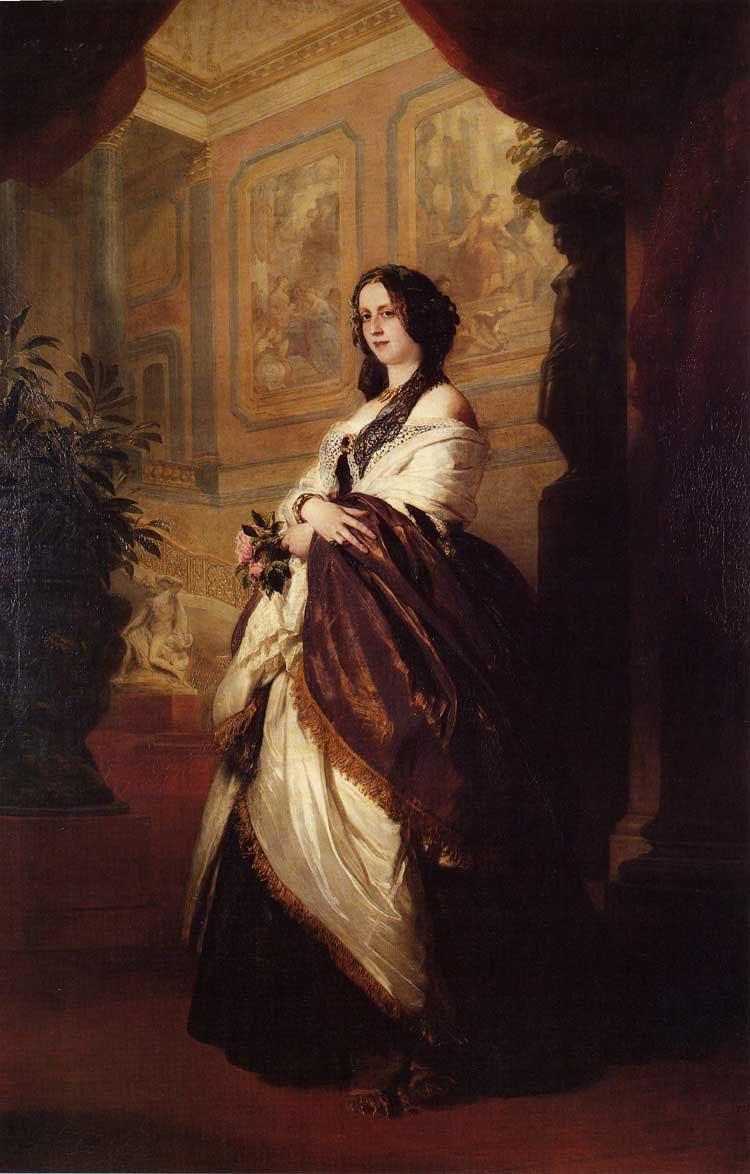 Harriet Howard, Duchess of Sutherland - Franz Xaver Winterhalter