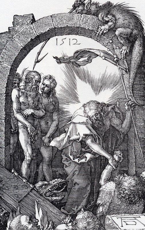 Harrowing Of Hell - Albrecht Durer