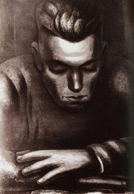 Hart Crane - David Alfaro Siqueiros