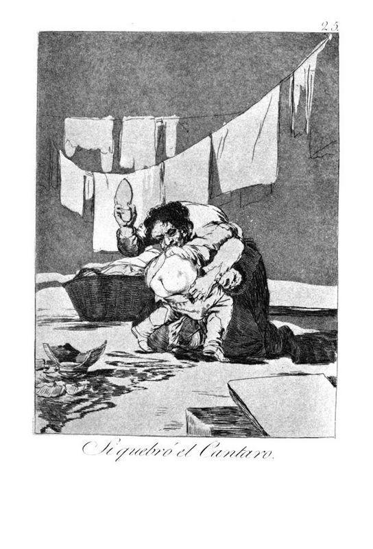 He broke the pitcher - Francisco Goya