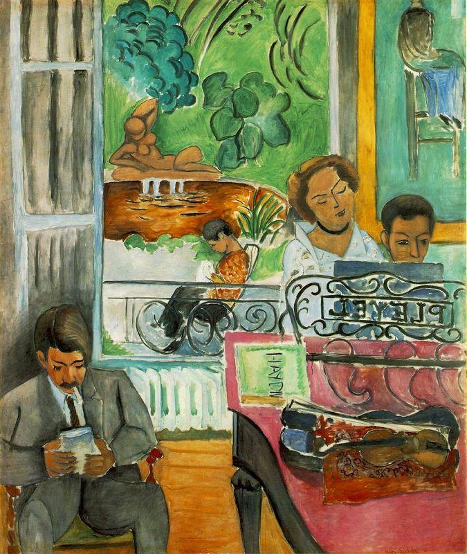 he Music Lesson - Henri Matisse