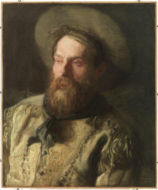 Head of a Cowboy - Thomas Eakins