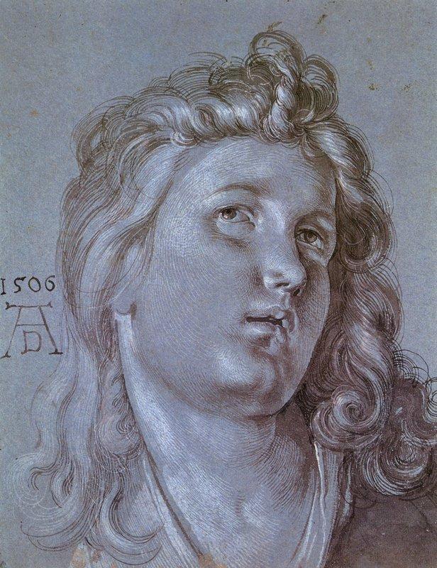 Head of an Angel - Albrecht Durer