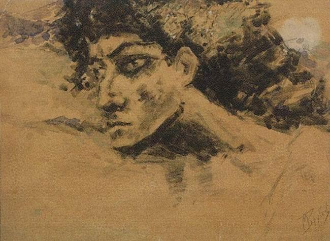Head of Demon - Mikhail Vrubel