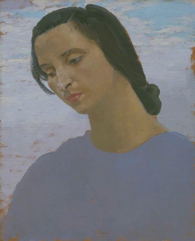Head of Dorelia McNeill - Augustus John