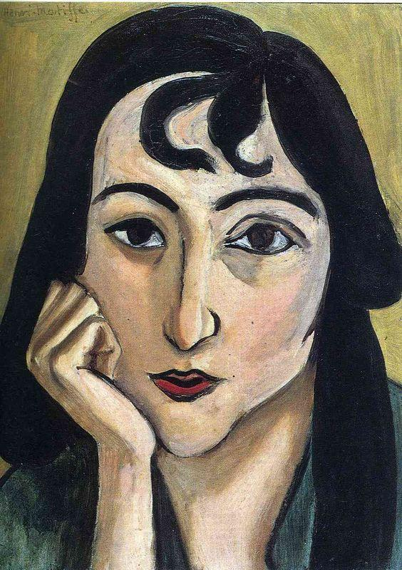 Head of Lorette with Curls - Henri Matisse