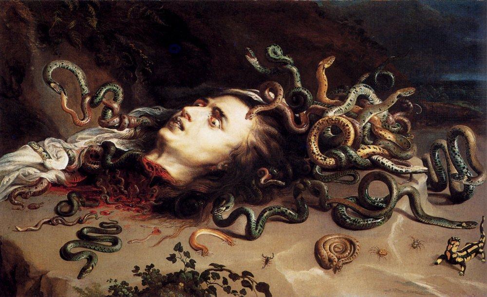 Head of Medusa - Frans Snyders