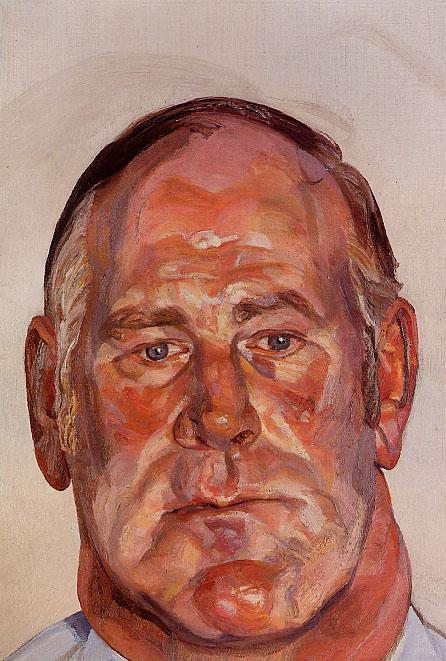Head of the Big Man - Lucian Freud