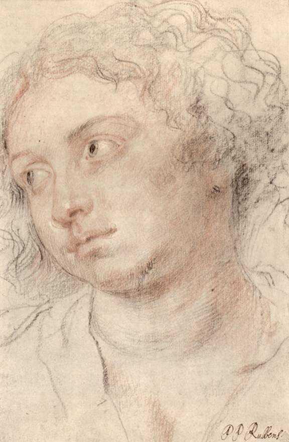 Head of woman - Peter Paul Rubens