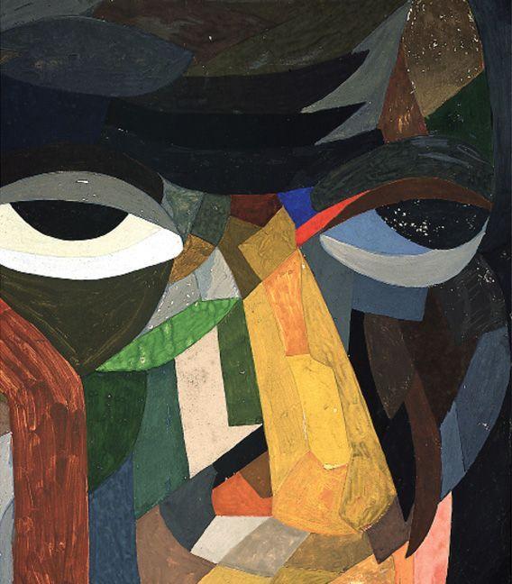 Head (Self Portrait) - Otto Freundlich