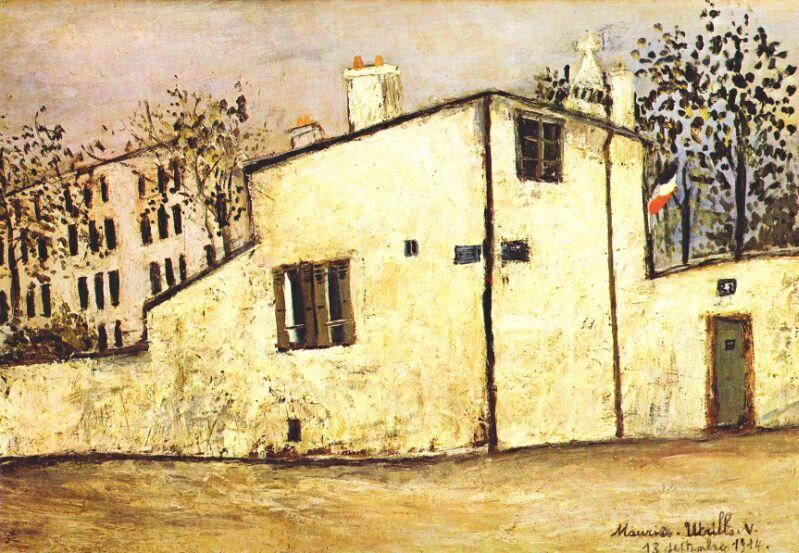 Hector Berlioz's house - Maurice Utrillo