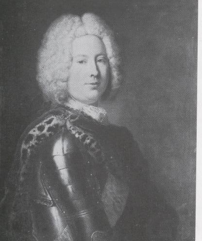 Heinrich von Podewils, Prussian statesman - Antoine Pesne