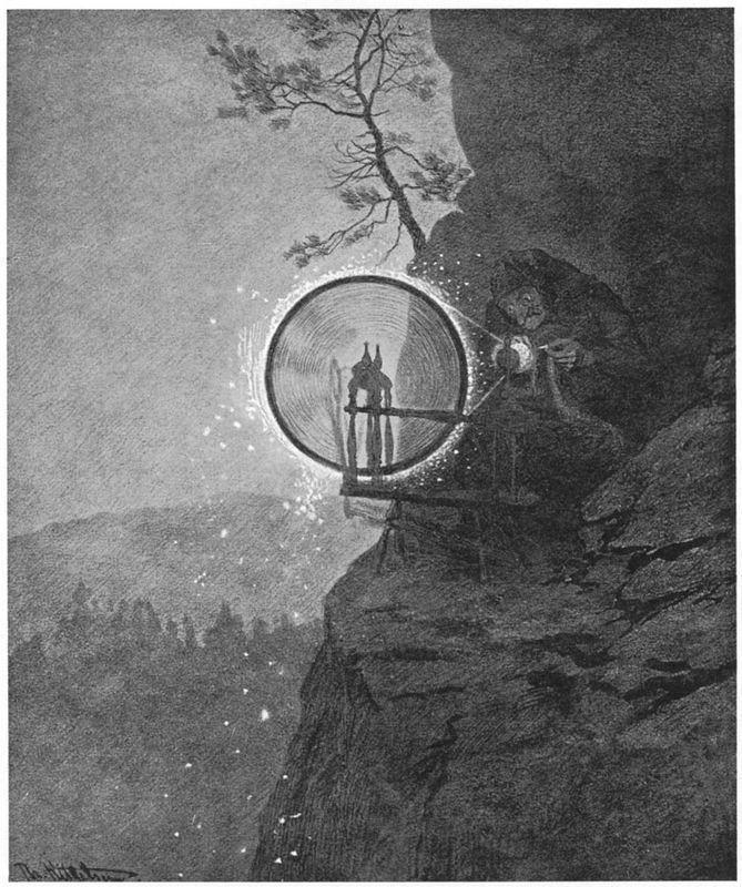 Witch - Theodor Severin Kittelsen