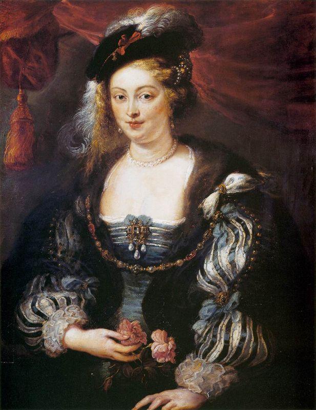 Helena Fourment - Peter Paul Rubens