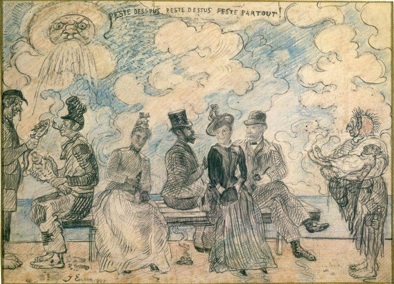 Hell Under, Hell Above, Hell All Around - James Ensor