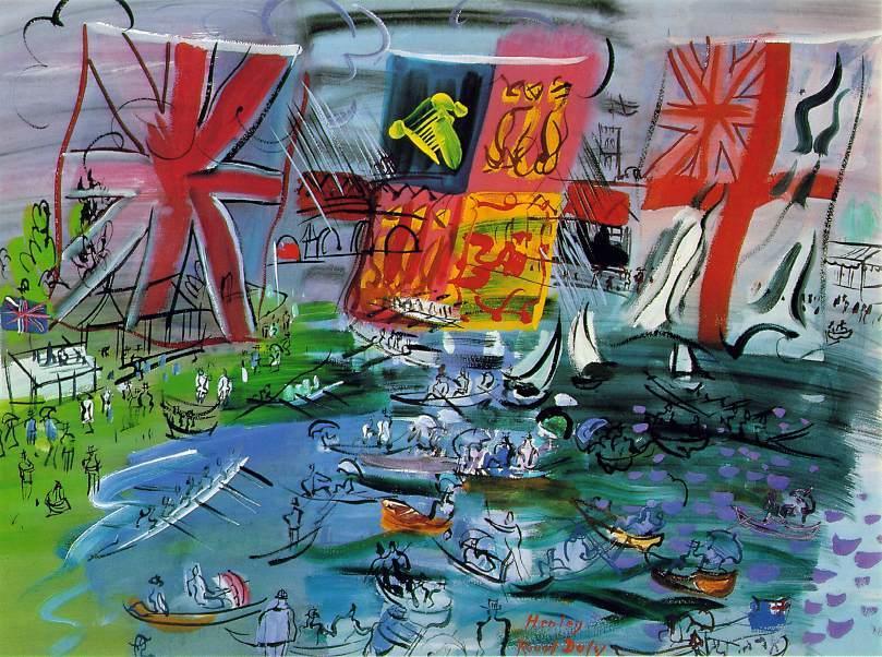 Henley Regatta - Raoul Dufy