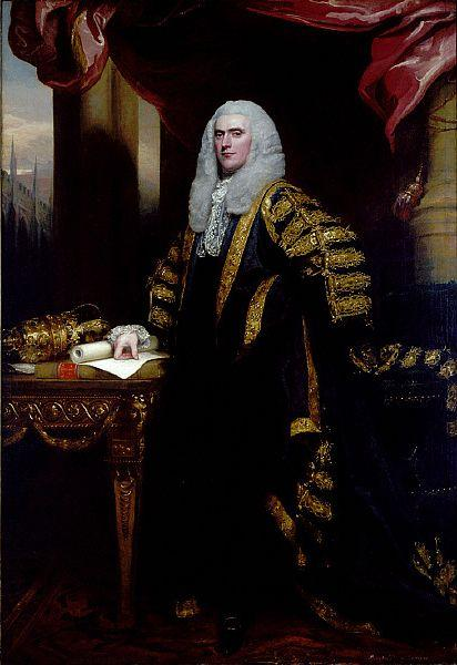 Henry Addington, First Viscount Sidmouth - John Singleton Copley
