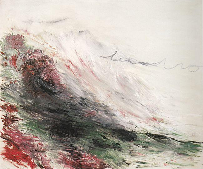 Hero and Leandro (A Painting in Four Parts) Part I - Cy Twombly