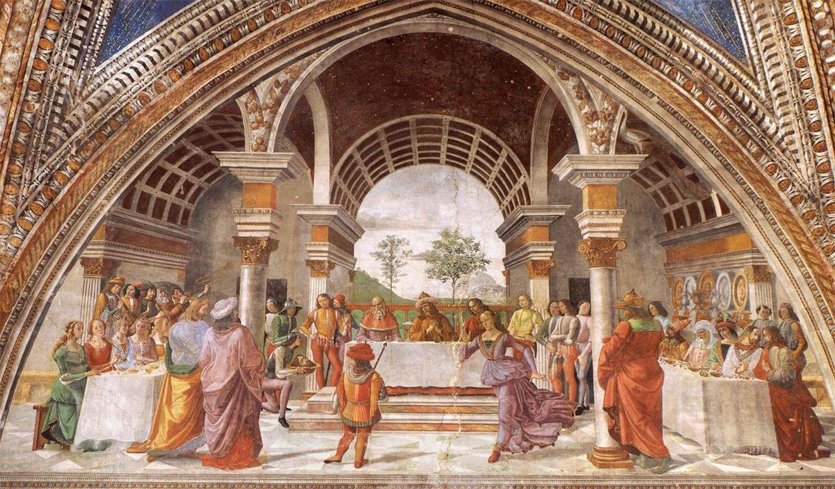 Herod's Banquet - Domenico Ghirlandaio