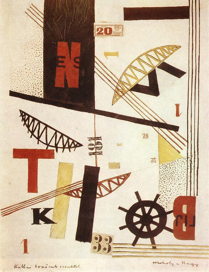 Hidak Bridges - Laszlo Moholy-Nagy
