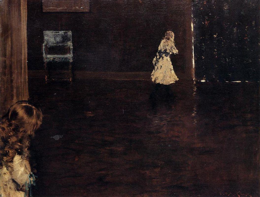 Hide and Seek - William Merritt Chase