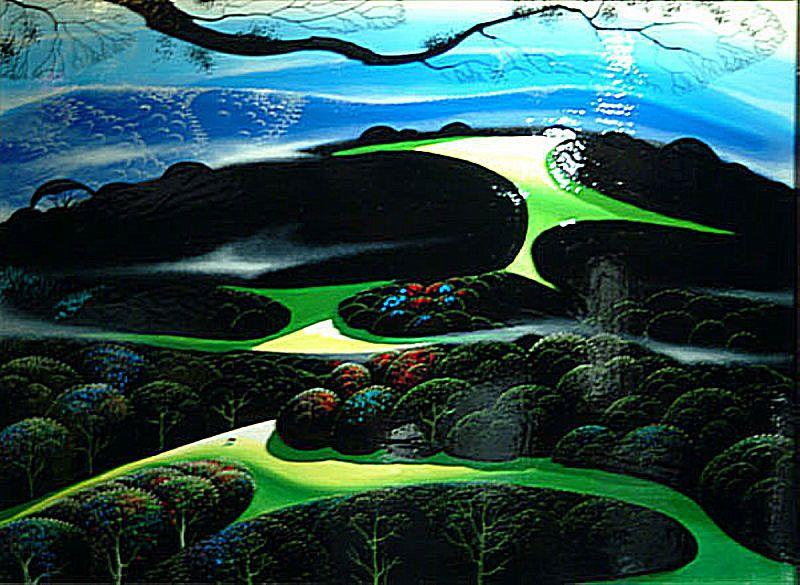 High Country Meadow - Eyvind Earle