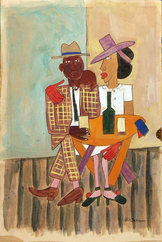 High Life, Harlem - William H. Johnson