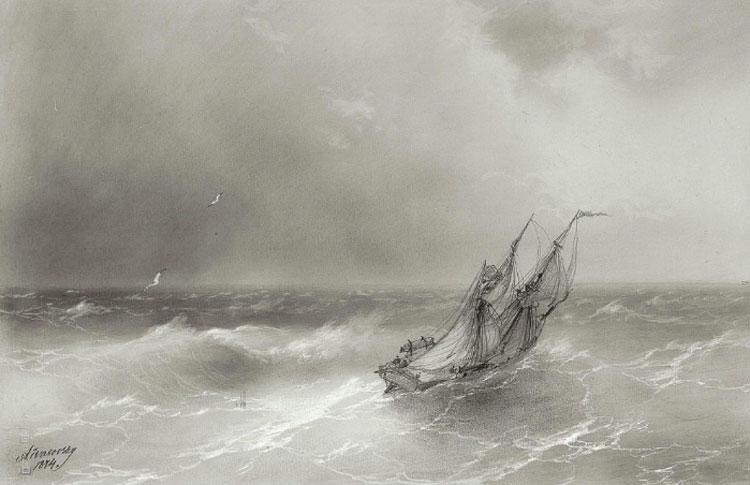 High seas - Ivan Aivazovsky