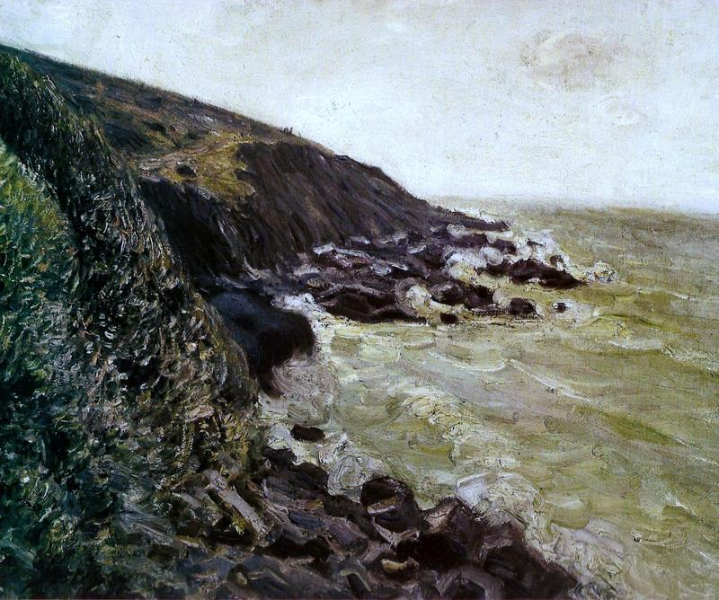High wind - Alfred Sisley