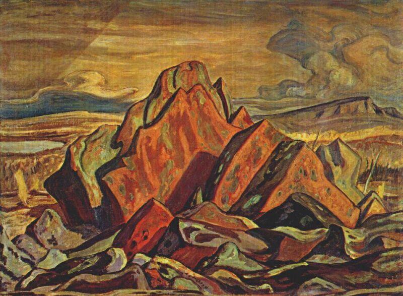 Hills at Great Bear Lake - A.Y. Jackson