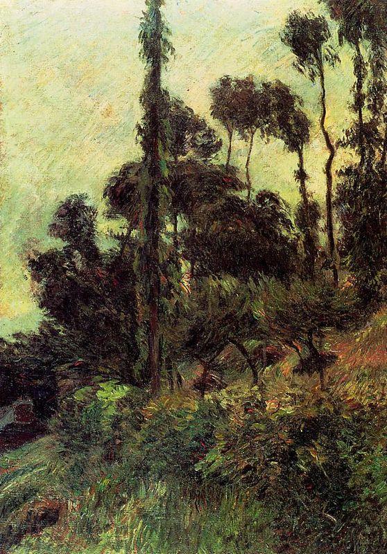 Hillside - Paul Gauguin