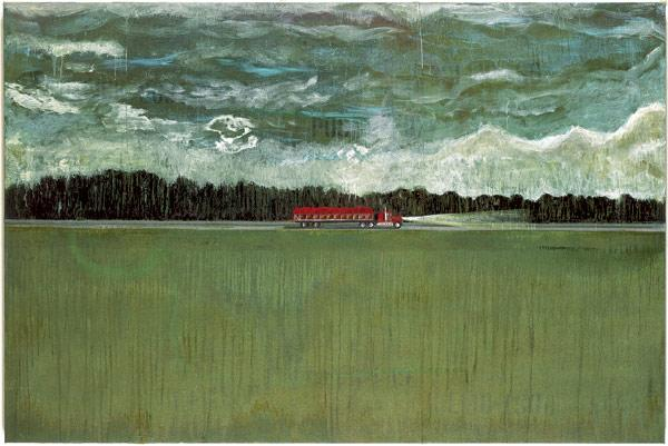 Hitchhiker - Peter Doig