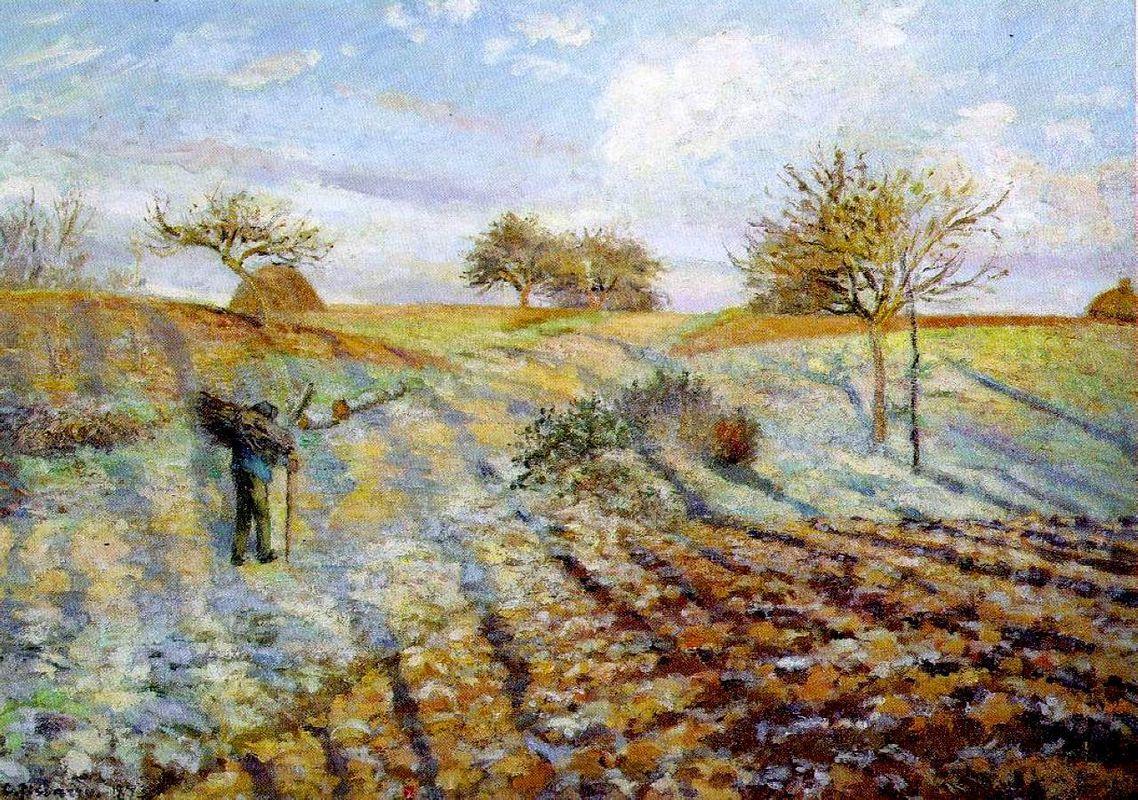 Hoarfrost - Camille Pissarro