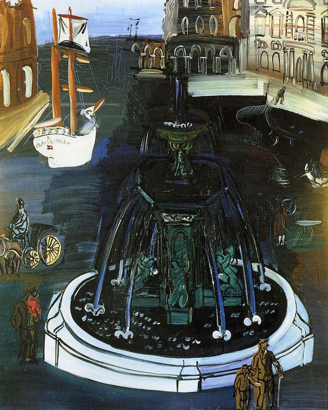 Homage To Claude Lorrain - Raoul Dufy