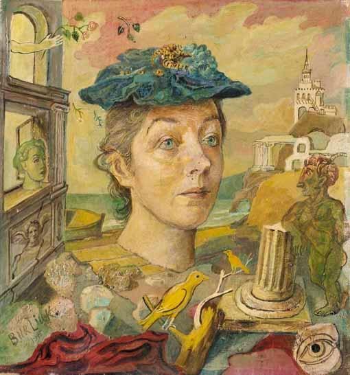 Homage to the artist's wife, Marusia - David Burliuk