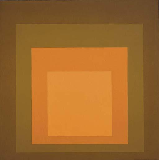 Homage to the Square: Autumn Climax - Josef Albers