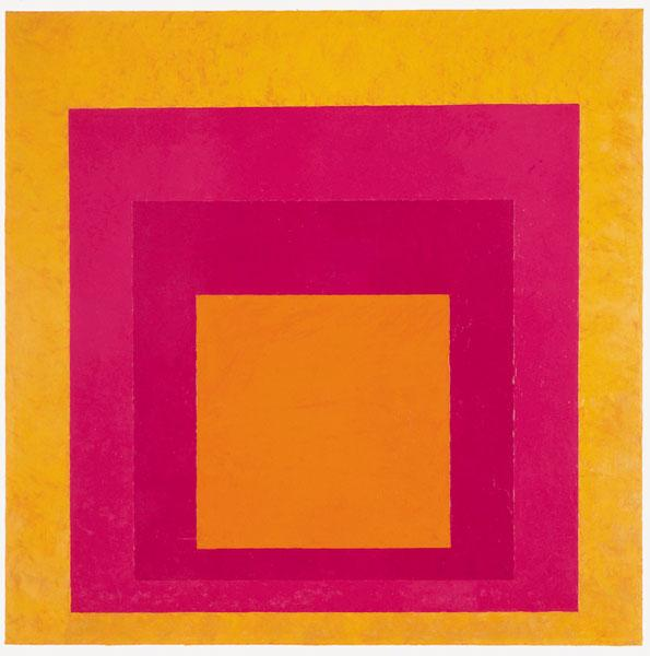 Homage to the Square (La Tehuana) - Josef Albers