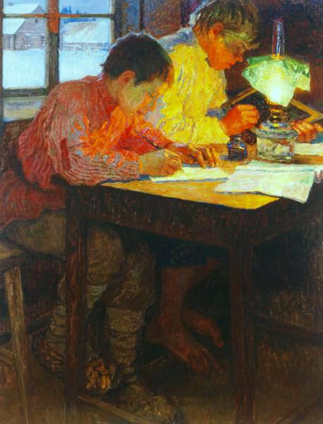 Homework - Nikolay Bogdanov-Belsky