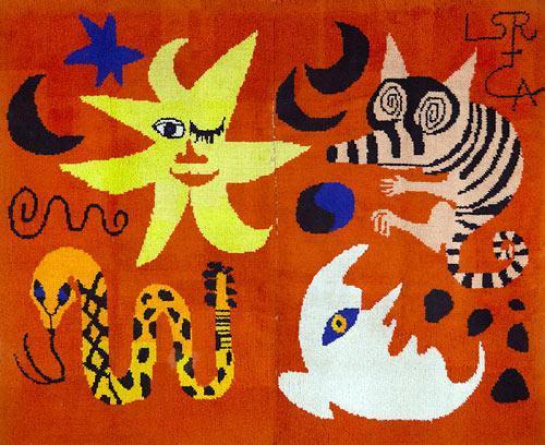 Hooked Rug  - Alexander Calder