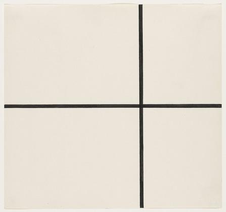 Horizontal and Vertical Lines - Ellsworth Kelly