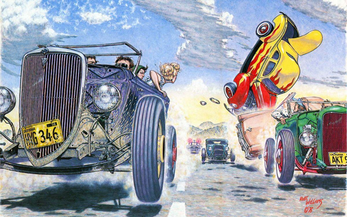 Hot Rod Race - Robert Williams