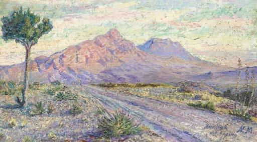 Hot spring in New Mexico - David Burliuk