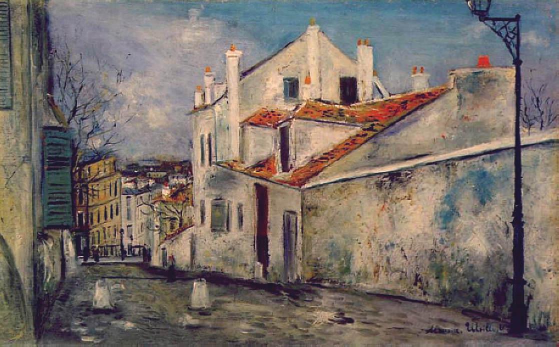House of Mimi Pinson - Maurice Utrillo
