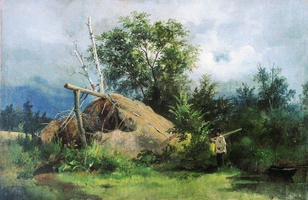 Hovel - Ivan Shishkin
