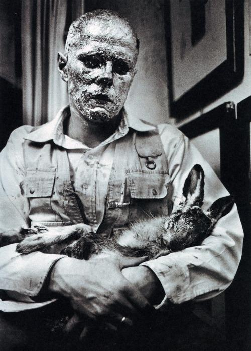 How to Explain Pictures to a Dead Hare - Joseph Beuys